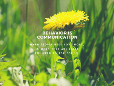 If behavior is communication – what do I do about it?