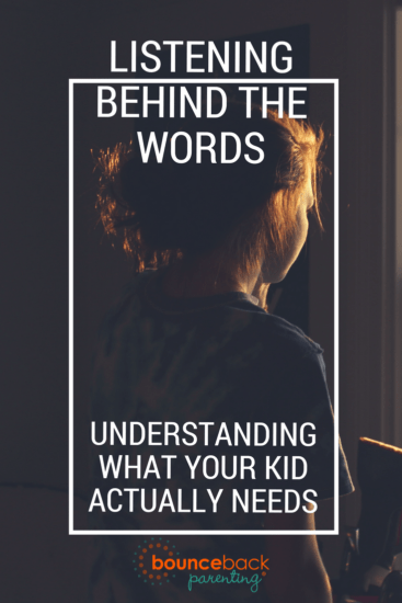 Red Flag Words – How to understand what your child really needs