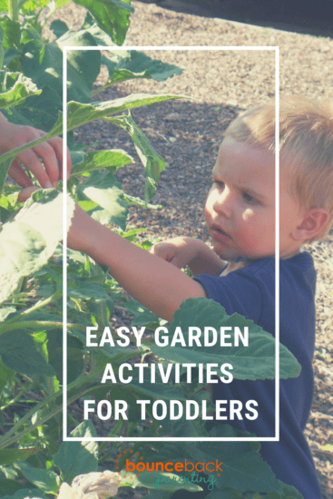 Gardening with Toddlers – Activities that are fun and easy to do together