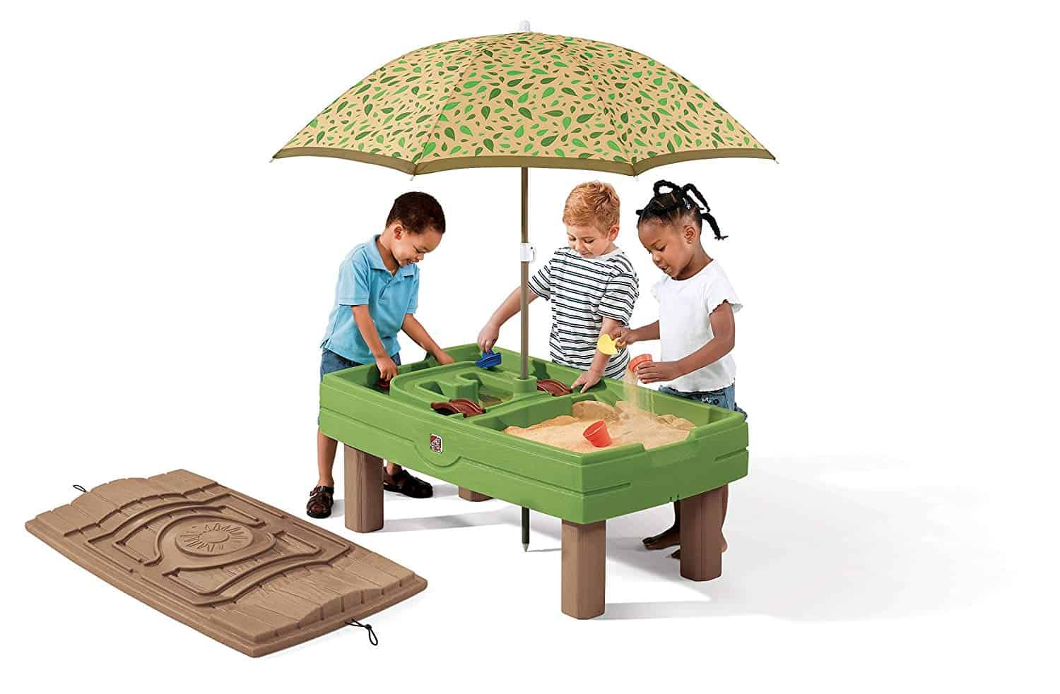 step2 water table with umbrella